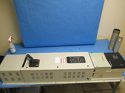 Allen-bradley Powerflex 400 Ac Drive W Bypass 22c-d060a103 40hp 3ph Used