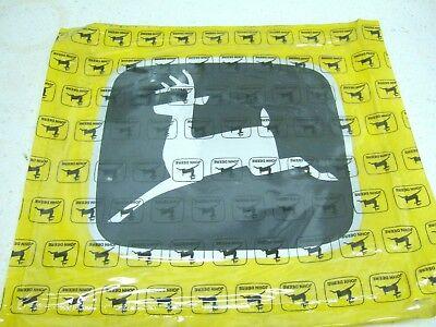 Large Oem John Deere Decal 8 X 9 Blacksilver Jd5572 Leaping Deer