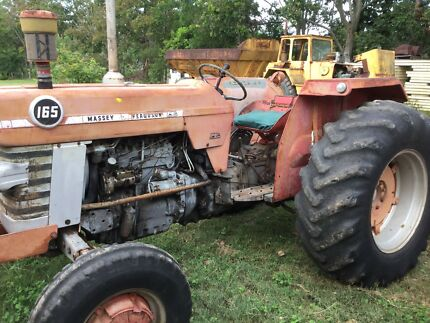 Massey Ferguson Tractor and slasher