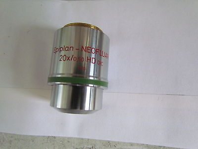 Zeiss Epiplan Neofluar 20x 0.50 Hd Microscope Objective