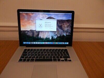 "Apple MacBook Pro 15.4"" Core i7 - QM 2.2 GHz Early 2011"