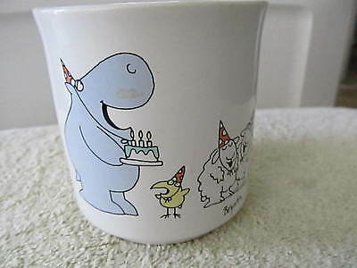Birthday Paper Products (Recycled Paper Products Hippopotamus Bird Ewes Sheep Birthday Coffee Cup Mug!)