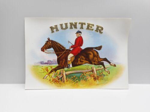 """Vintage - 8 """"HUNTER""""  Cigar Box Labels"""