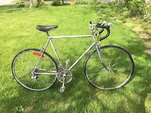 "Vintage Raleigh Super Record 12  speed - 23"" frame suits 5'6""-6'"