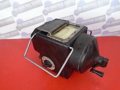 Vintage James Biddle Megger 7680-ark Insulation Tester Volts Dc-1000 Volts