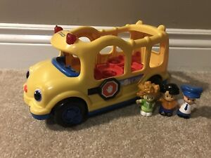 Fisher-Price Little People Lights and Sounds School Bus