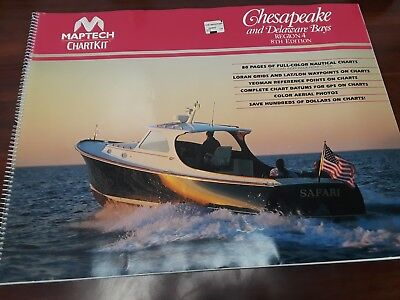 Maptech Chart Kit Chesapeake and Delaware Bays Region 4 8th Edition  ()