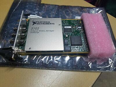 National Instruments Pxi-5102 Digitizer Card Ni Daq Scope