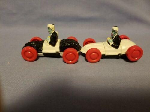 1993 Plastic Black White Two Face DC Comics Transformer Car Collectible 2pc. - $3.99
