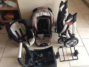 Valco Pram & Car Capsule Travel System Emerton Blacktown Area Preview