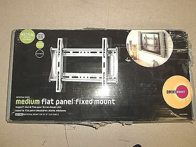 Omni Mount Universal Medium Flat Panel Fixed Mount, Platinum 23-37