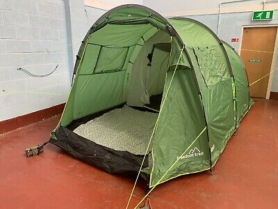 Freedom Trail Sendero 4 Man Berth Tent + Carpet  **RRP £210** Family Camping 862