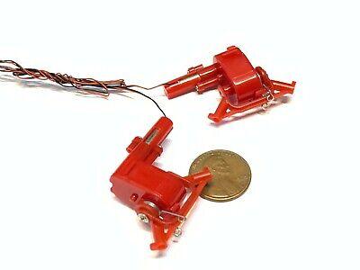 2 Pieces Boat Rudder Plane Spring Dc 3-3.7v Micro Worm Gear Mini Servo Motor A20