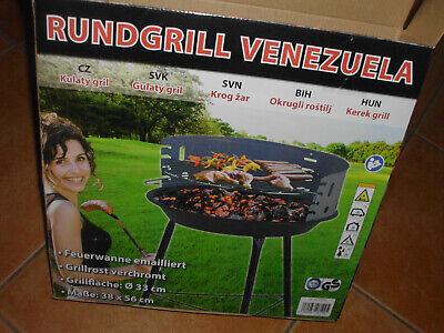 Activa Rundgrill klein Venezuela Grillfläche 33cm Grillen Grill Barbecue Garten