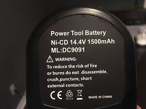 14.4V DeWalt Power tool replacement battery  Kitchener / Waterloo Kitchener Area image 2