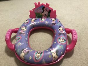Minnie Mouse Soft Potty Seat with Sound