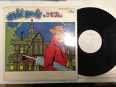 DAVID BOWIE/The Man Who Sold The World LP JAPAN ORIG MERCURY PROMO SFX7345 RARE