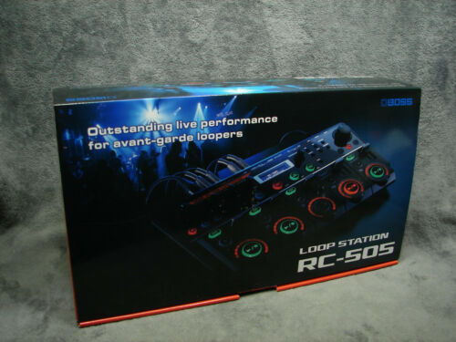 New Boss RC-505 Loop Station Complete BeatBox Looper Only Used For 10 Minutes