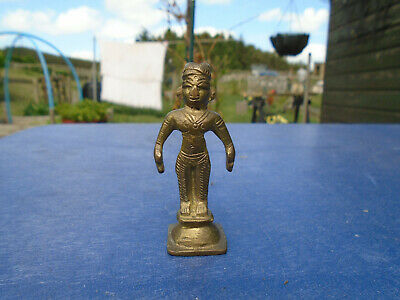 Beautiful Brass Middle Eastern Sculpted Figure