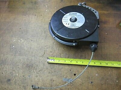 Hubbell Bg-07 Adjustable Spring Tool Balancer For 5-10 Lbs Tools Wsteel Cable