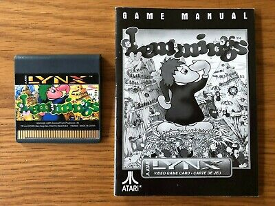 Atari Lynx Unboxed Game - Lemmings by Atari Corp / Psygnosis (with Manual)