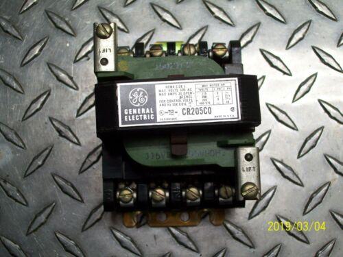 GE CR205C0 Motor Starter Size 1 600V 30A