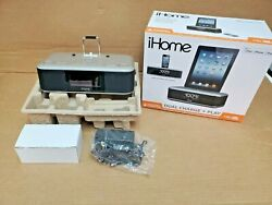 iHome iDL95 Dual Charging FM Clock Radio With Lightning Dock and USB Charge/Play