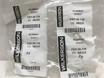 Wilkerson Frp-96-729 Filter Element 5 Micron Lot Of 2