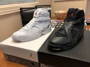 OVO x Jordan 8s - Size 8.5 (Both Colours)
