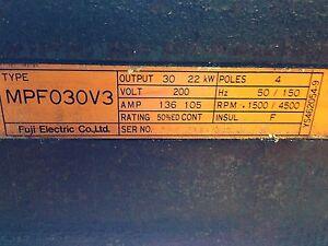 FUJI-ELECTRIC-SPINDLE-MOTOR-MPF030V3