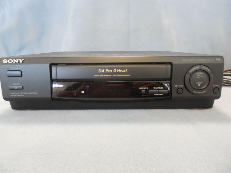 SONY SLV-478 DA Pro 4 Head VHS & VIDBOX Analog to Digital for PC