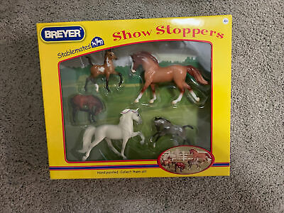 Brand New Breyer Stablemates Showstoppers Set Of 5