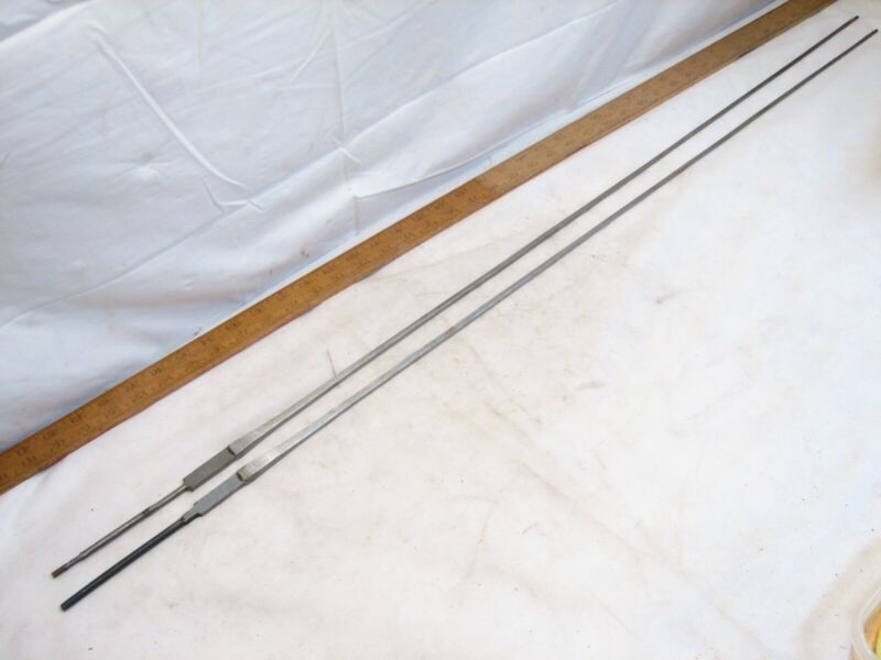 Pair Vintage Italy FS Fencing Foil Blades Sword Epee No Handle Parts Sabre Duel