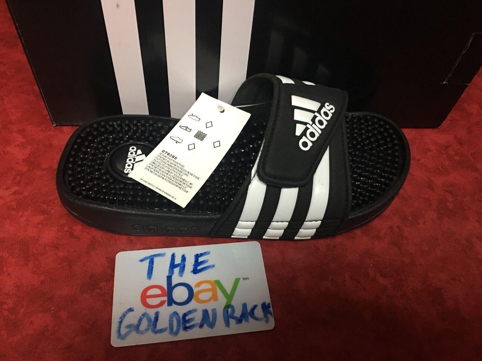 Adidas Adissage Slide Black Athletic Kid Sport Sandals 07828