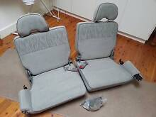 Rear (dickie) seats for 2002 Nissan Patrol (seats 6 & 7) Grey Frenchs Forest Warringah Area Preview