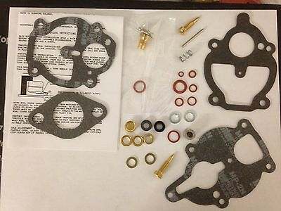 Zenith 61 161 67 68 Carburetor Kit K2112 Ih Farmall Wisconsin Allis Usa Quality