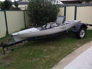 Hobie Pro Angler (pa) 14 kayak for sale WITH TRAILER Crestmead Logan Area Preview
