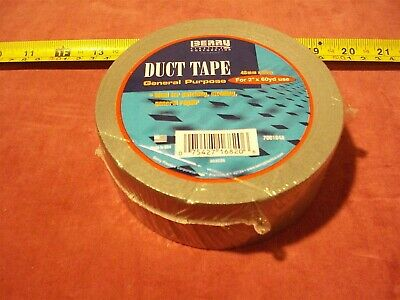 1872. General Purpose Duct Tape - 2 X 60 Yds Grey