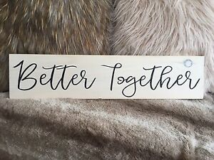 Handmade Better Together Sign
