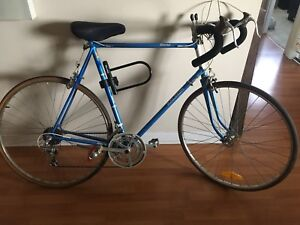 MENS RALEIGH RECORD ROAD BIKE (blue)