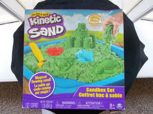 NEW KINETIC SAND  Sandbox Set   Spin Master Magical Flowing Natural  Sand