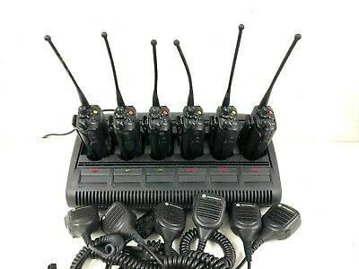 Lot Of 6 Motorola Xts5000 Model Iii Police Radio 700 800mhz H18uch9pw7an Impres