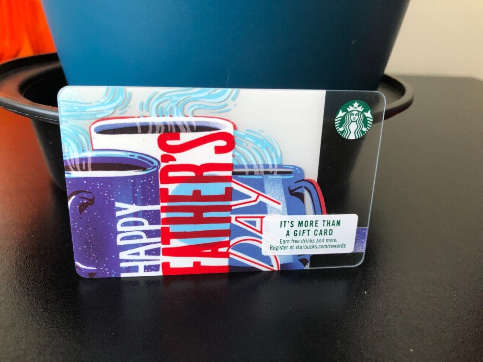 New Reloadable Happy Father s Day Starbucks Gift Card Empty  - $3.25