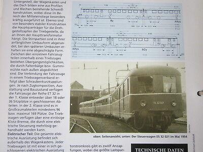 Bahn Lokaufrisse DE & Diesel ET 44 DB ET 32 Umbau BR ET31, 1950