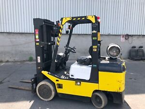 TCM FGC30. 6000lbs Forklift quad with  4 ways pluming