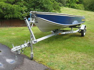 14 Ft Harbercraft with OB & Trailer