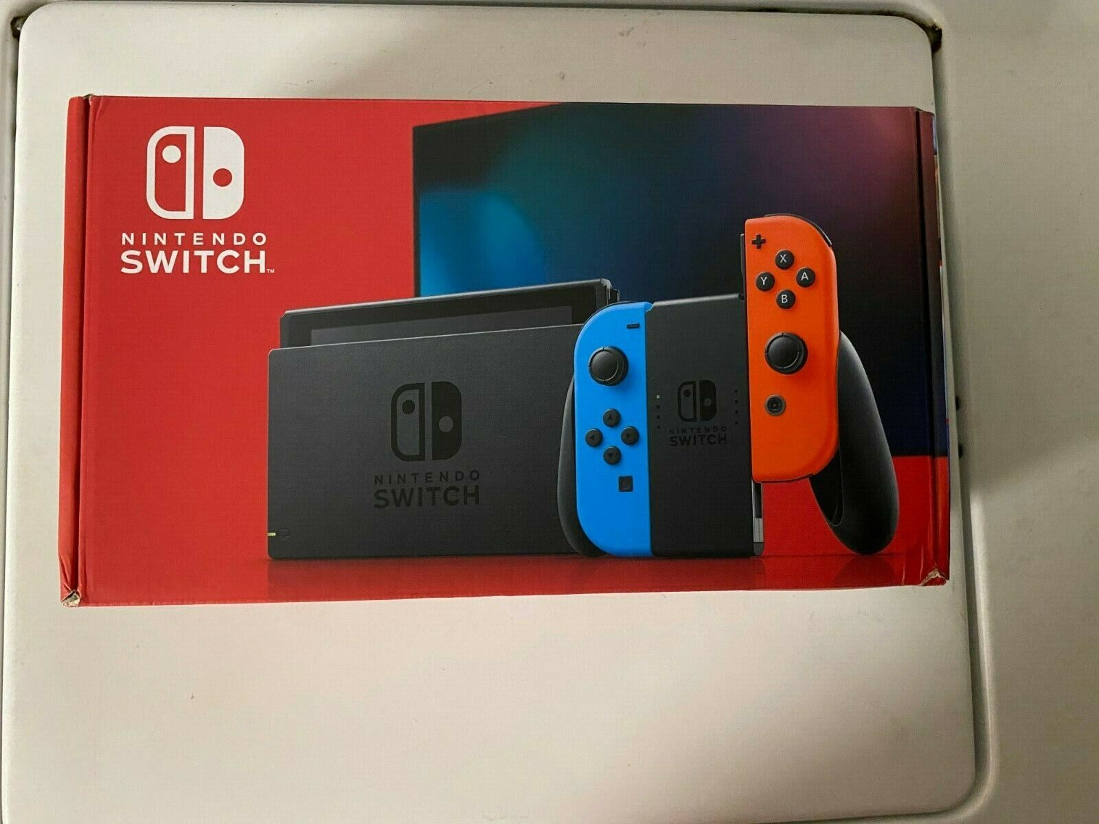 Nintendo Switch Gaming Console Neon Red Neon Blue Joy-con 32GB New