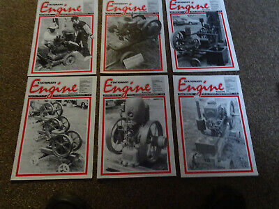 Stationary Engine Magazines x 6 copies 1993-1994