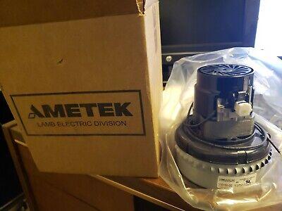 1 Speed 1 Stage Peripheral AMETEK LAMB 116271-00 Vacuum Motor//Blower Acustek