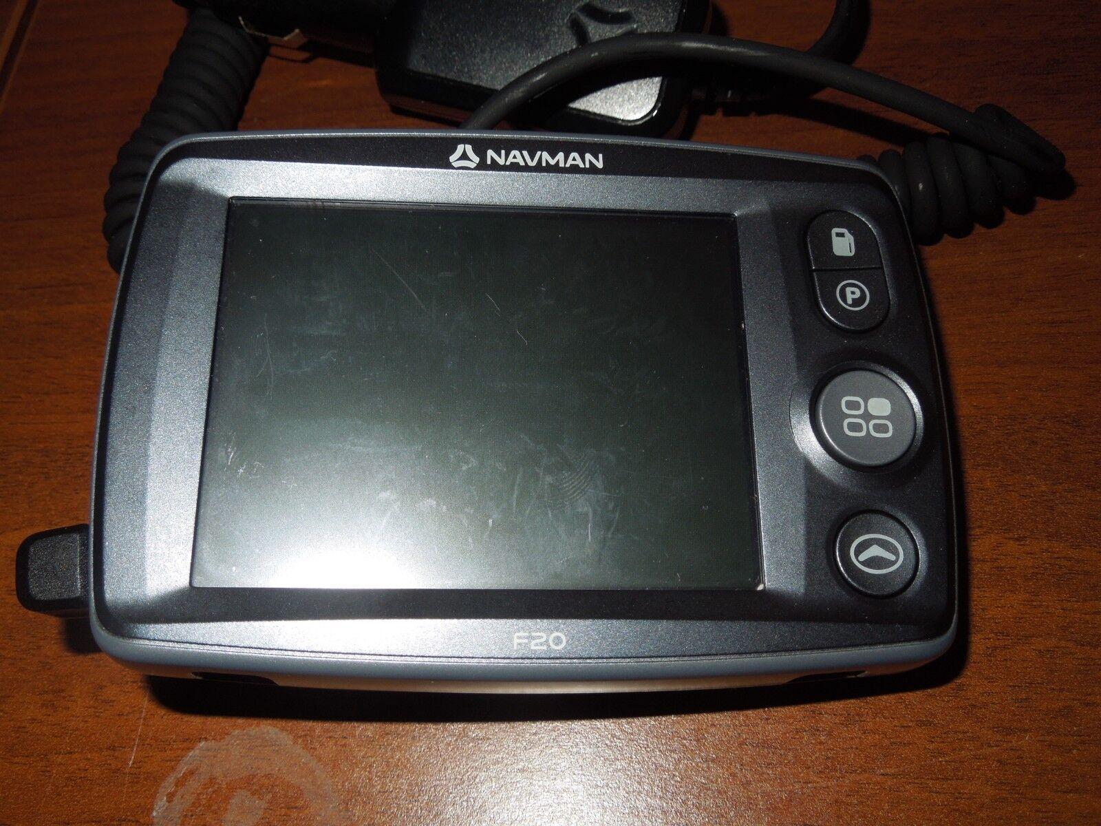 Navman Bundle F20 Slim, Portable GPS Navigation 3.5 inch Touch Screen with Case
